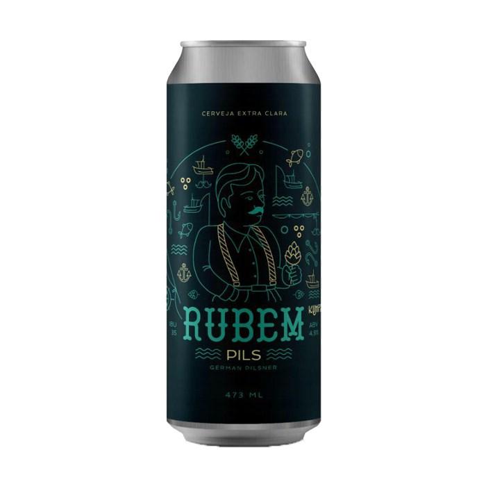 Cerveja Kumpel Rubem Pils, 473ml