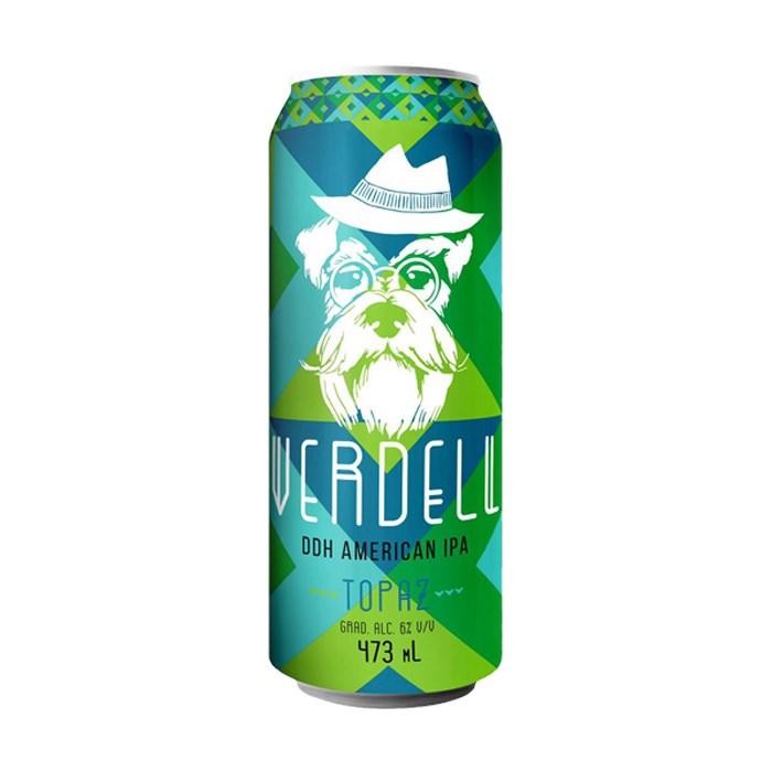 Cerveja Latido Verdell Topaz, 473ml