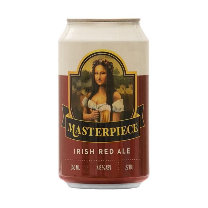 Cerveja Masterpiece Red Ale, 350ml