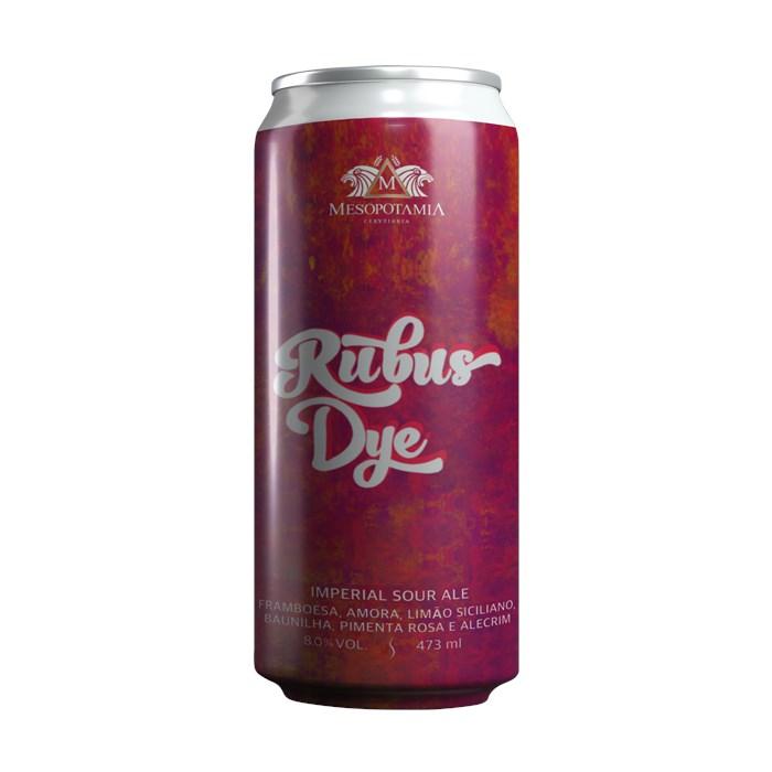 Cerveja Mesopotamia Rubus Dye, 473ml