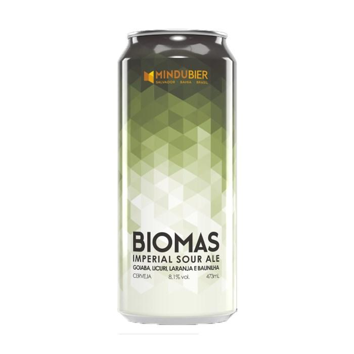 Cerveja MinduBier Biomas, 473ml