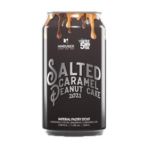 Cerveja MinduBier Salted Caramel Peanut Cake, 350ml