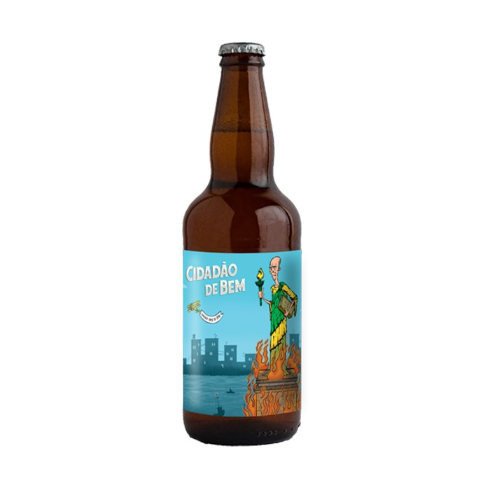 Cerveja Mito Cidadão de Bem #2, 500ml