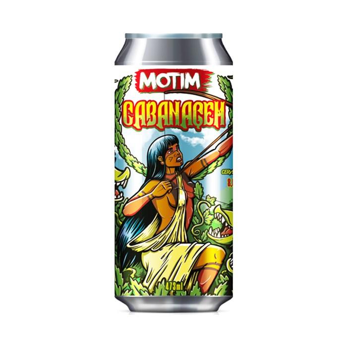 Cerveja Motim Cabanagem, 473ml