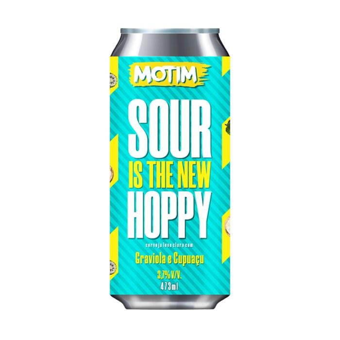 Cerveja Motim Sour Is The New Hoppy Graviola e Cupuaçu, 473ml