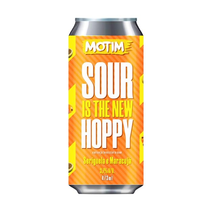Cerveja Motim Sour Is The New Hoppy Seriguela e Maracujá, 473ml