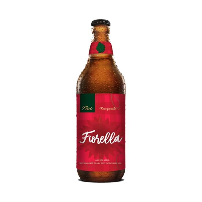 Cerveja Noi Fiorella, 600ml