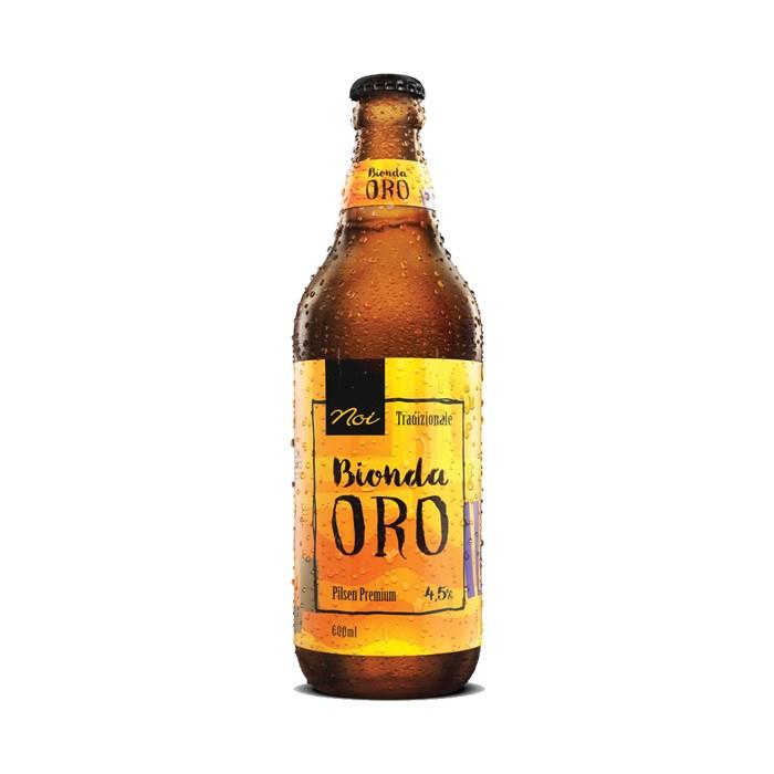 Cerveja Noi Oro, 600ml