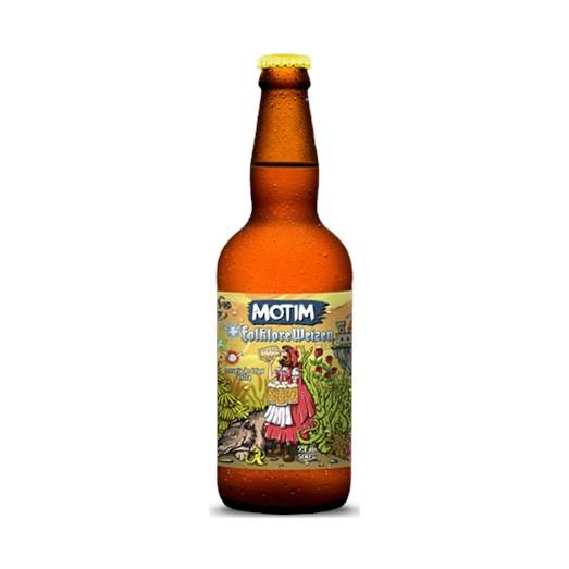 Cerveja O Motim Folklore Weizen, 500ml