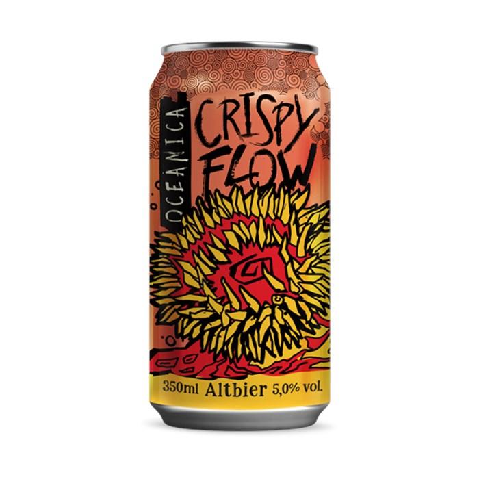 Cerveja Oceânica Crispy Flow, 350ml