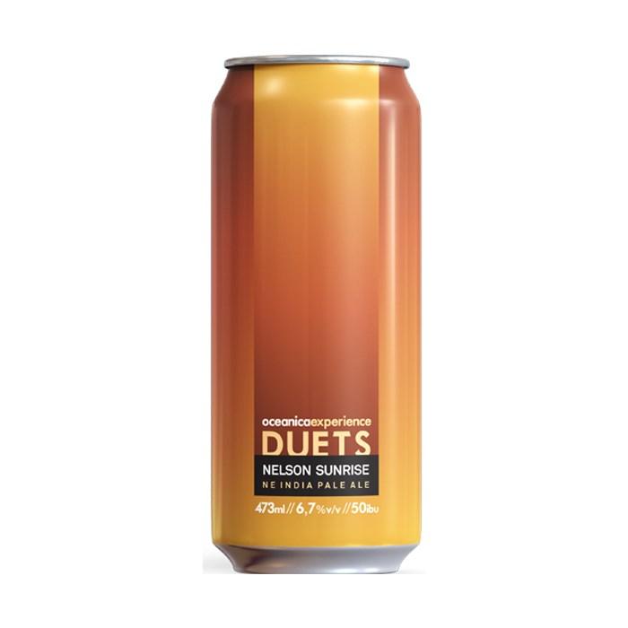 Cerveja Oceânica Duets Nelson Sunrise, 473ml