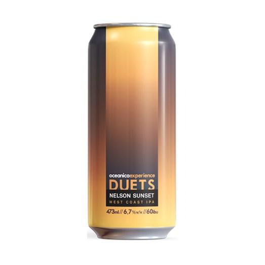 Cerveja Oceânica Duets Nelson Sunset, 473ml