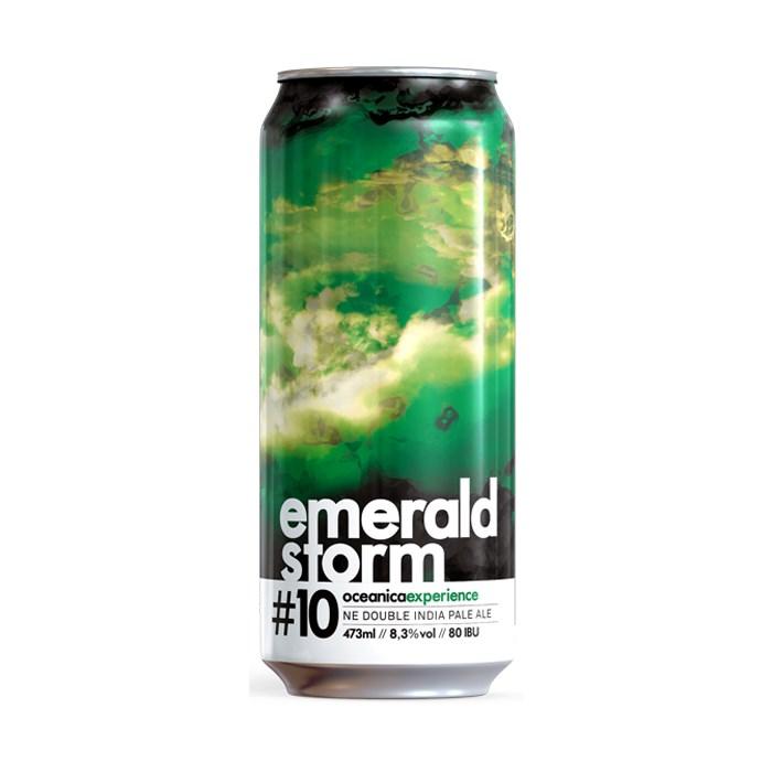 Cerveja Oceânica Emerald Storm, 473ml