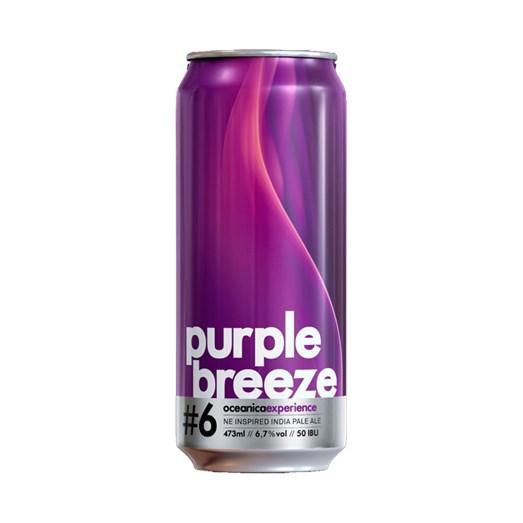 Cerveja Oceânica Purple Breeze, 473ml