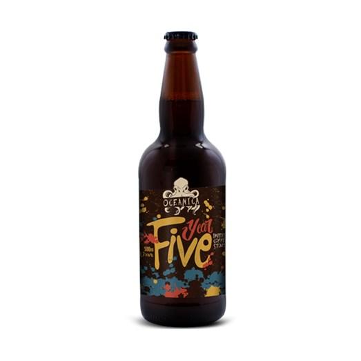 Cerveja Oceânica Year Five, 500ml