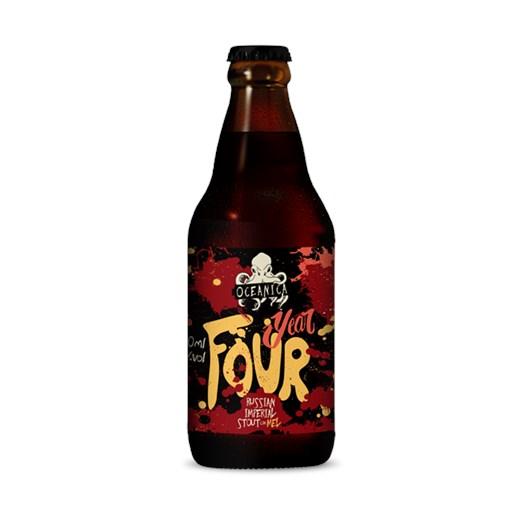 Cerveja Oceânica Year Four, 300ml