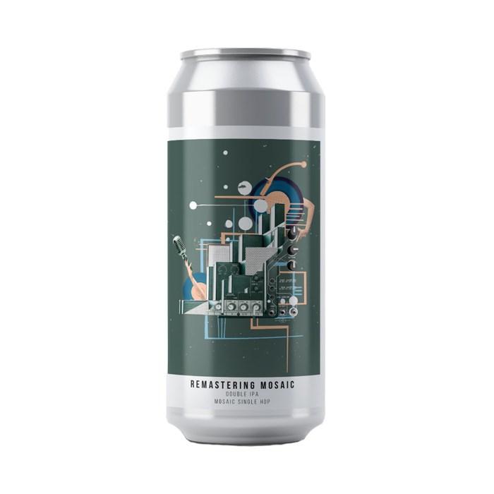 Cerveja Octopus Remastering Mosaic, 473ml
