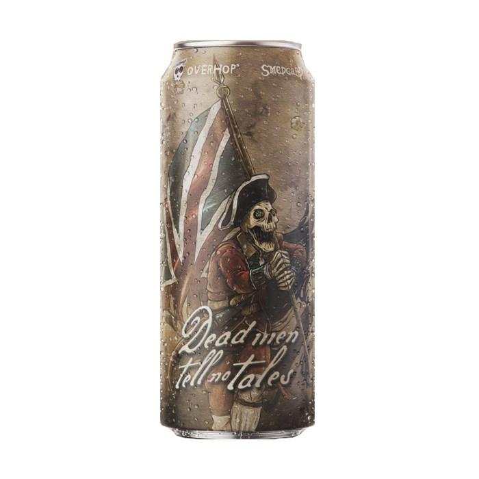 Cerveja OverHop Dead Men Tell No Tales, 473ml