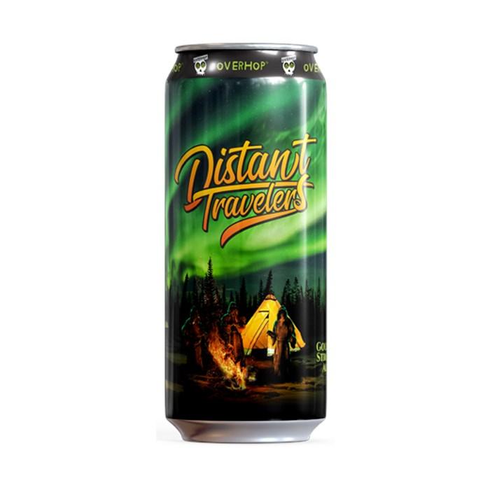 Cerveja OverHop Distant Travelers, 473ml