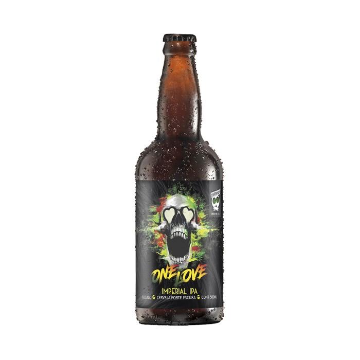 Cerveja OverHop One Love, 500ml