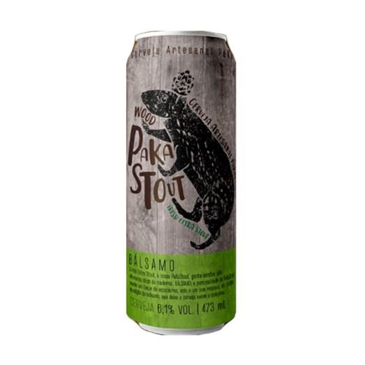 Cerveja PaKas Wood PaKaStout Bálsamo, 473ml