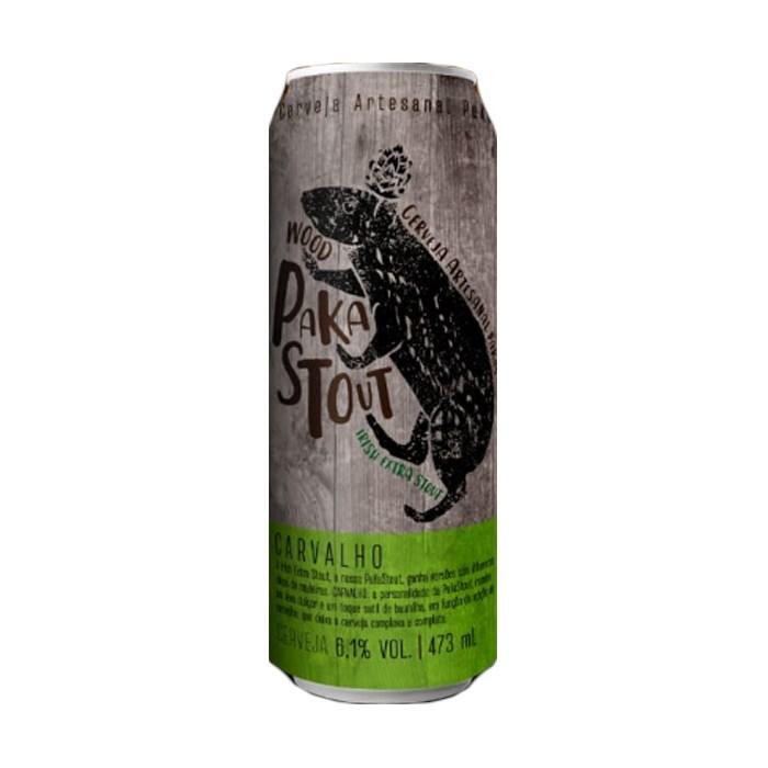 Cerveja PaKas Wood PaKaStout Carvalho, 473ml