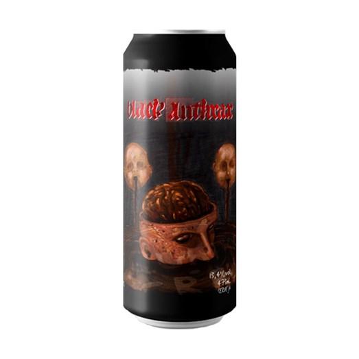 Cerveja Quatro Graus Black Anthrax 2020, 473ml