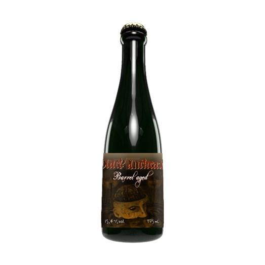 Cerveja Quatro Graus Black Anthrax Barrel Aged (2019), 375ml