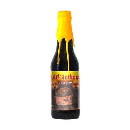 Cerveja Quatro Graus Black Anthrax Capsicum 2019, 355ml