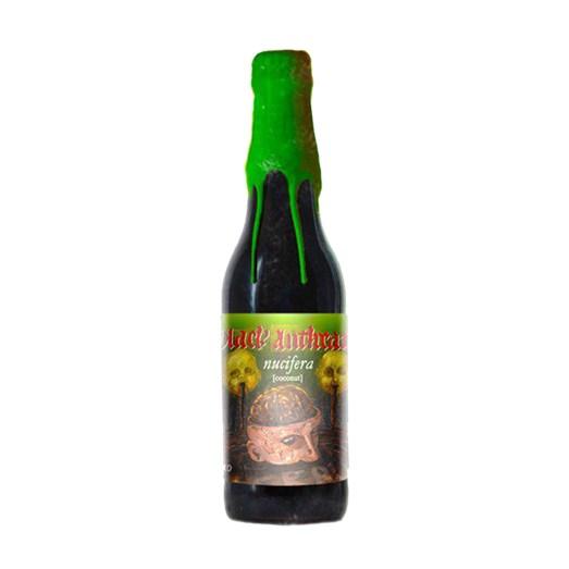 Cerveja Quatro Graus Black Anthrax nucifera 2019, 355ml
