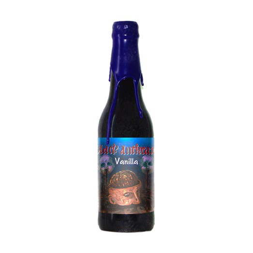 Cerveja Quatro Graus Black Anthrax Vanilla 2019, 355ml
