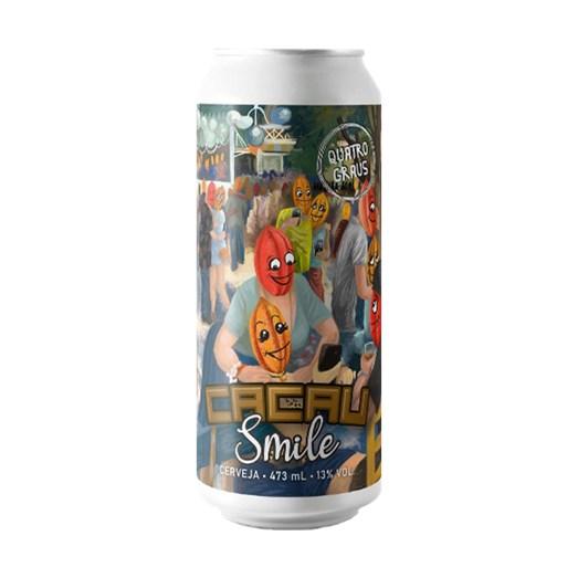 Cerveja Quatro Graus Cacau Smile, 473ml