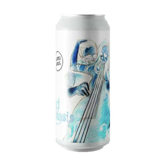 Cerveja Quatro Graus e 5 Elementos Sweet Symbiosis 2020, 473ml
