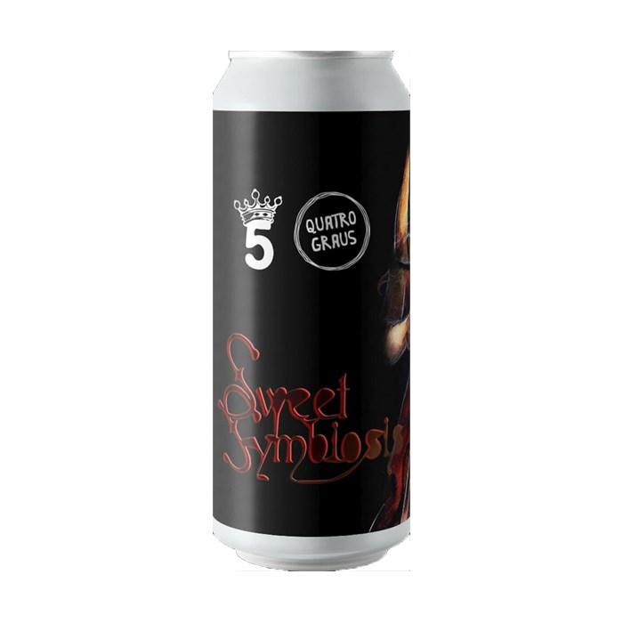 Cerveja Quatro Graus e 5 Elementos Sweet Symbiosis 2021, 473ml