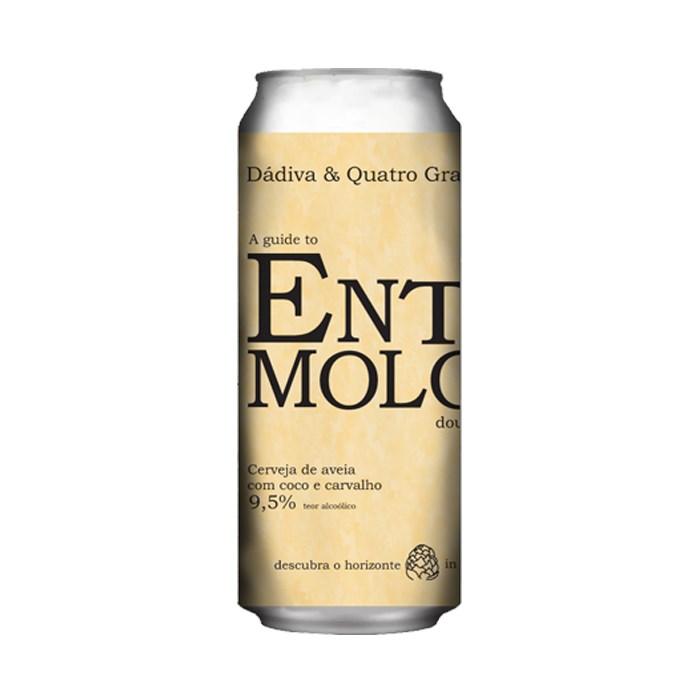 Cerveja Quatro Graus e Dádiva Entomology, 473ml