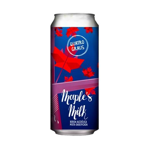 Cerveja Quatro Graus Maple's Milk, 473ml