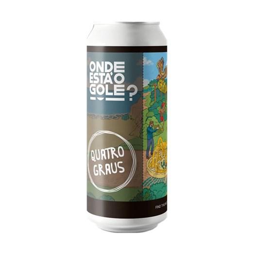 Cerveja Quatro Graus Onde Está o Gole? - Find The Nuts, 473ml