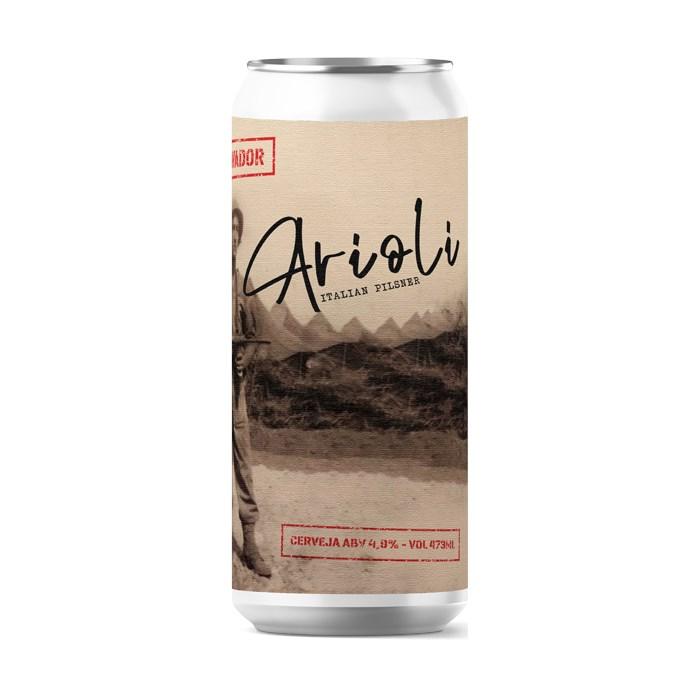 Cerveja Salvador Arioli, 473ml