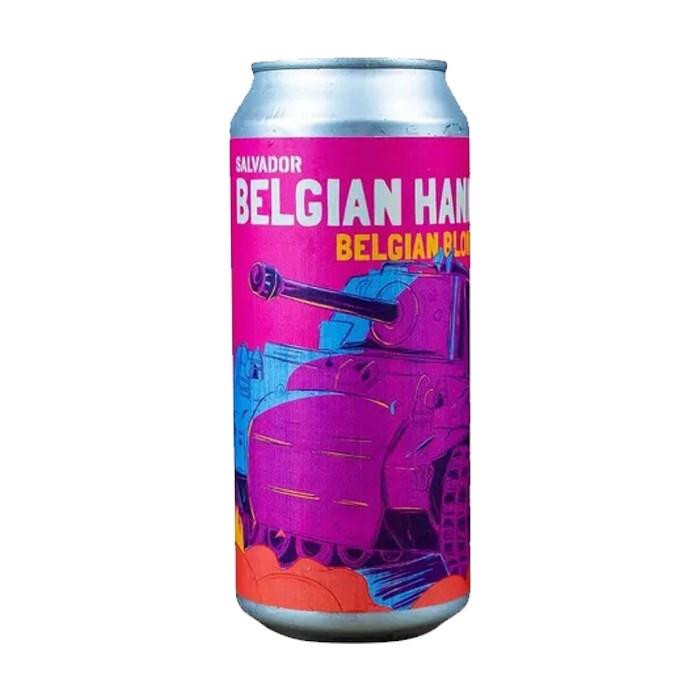 Cerveja Salvador Belgian Hannut, 473ml