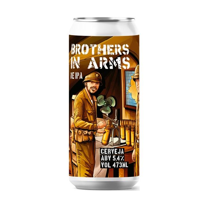 Cerveja Salvador Brothers In Arms, 473ml