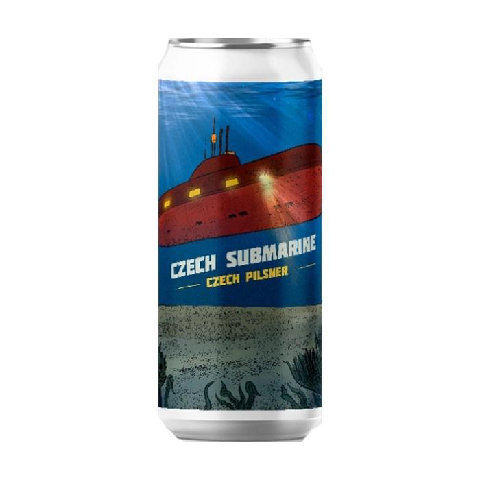 Cerveja Salvador Czech Submarine, 473ml