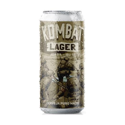 Cerveja Salvador Kombat Lager, 473ml