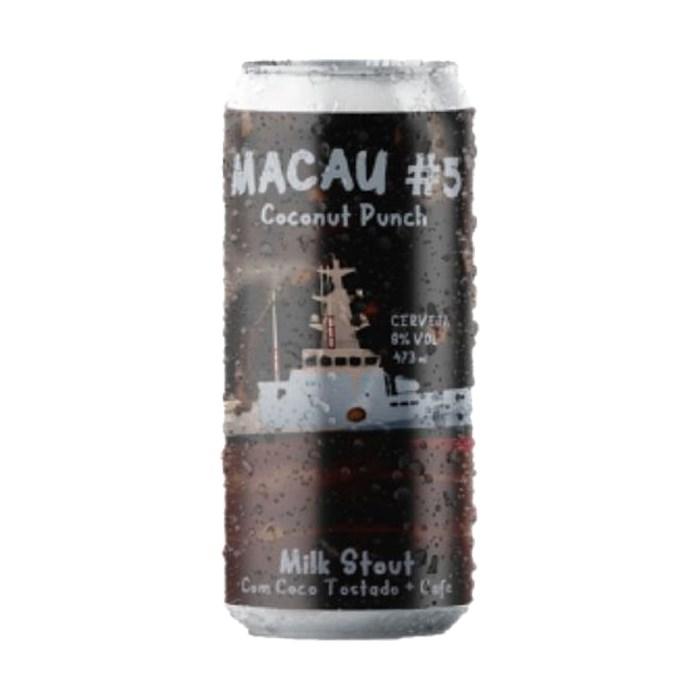 Cerveja Salvador MACAU #5 Coconut Punch, 473ml