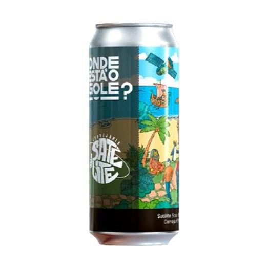 Cerveja Satélite Onde Está o Gole?, 473ml
