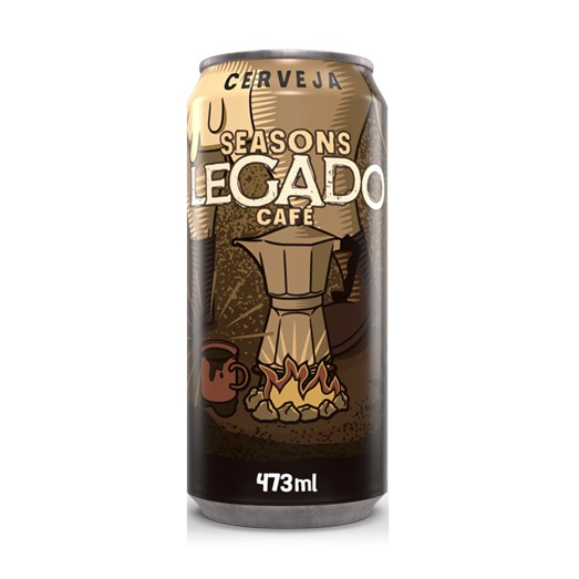 Cerveja Seasons Legado Café, 473ml