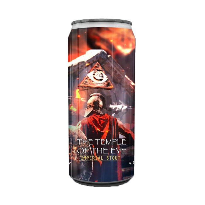 Cerveja Spartacus e Dogma The Temple of the Eye, 473ml