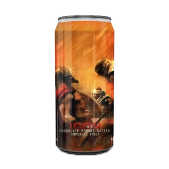 Cerveja Spartacus ICON Chocolate Peanut Butter, 473ml