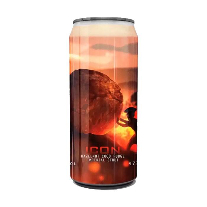 Cerveja Spartacus ICON Hazelnut Coco Fudge, 473ml