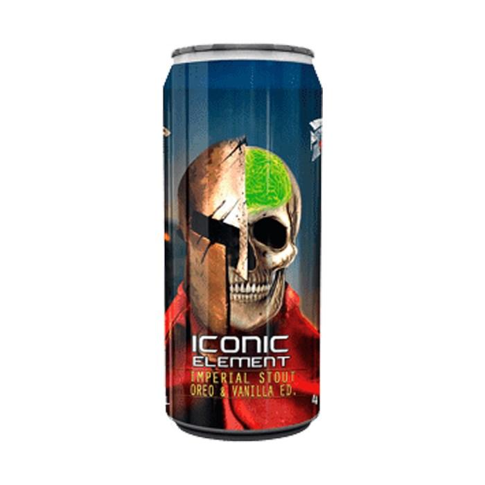 Cerveja Spartacus Iconic Element Oreo & Vanilla, 473ml