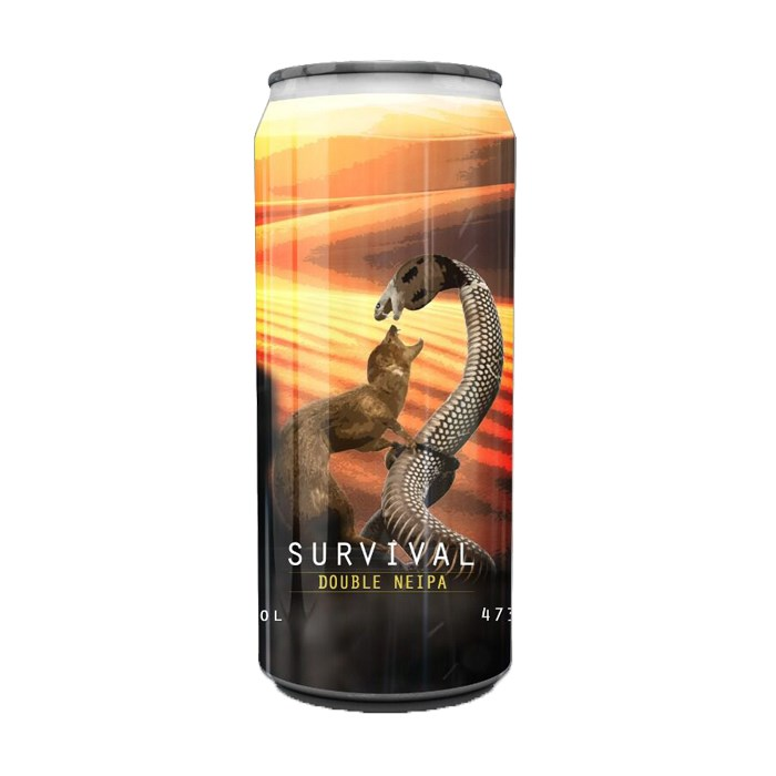 Cerveja Spartacus Survival, 473ml